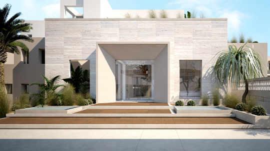 hotel renovation, exterior design, entrance, ανακαίνιση ξενοδοχείου, είσοδος