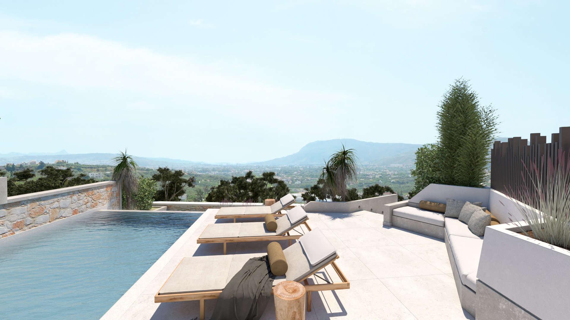 outdoor spaces renovation, exterior design, pool, διαμόρφωση εξωτερικών χώρων με πισίνες